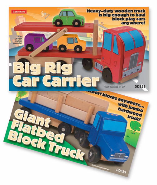 Toy Vehicle Packaging