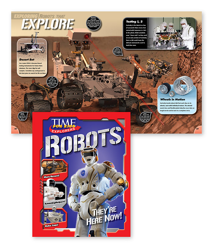 Time For Kids Explores Robots